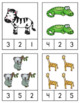 Zoo Math & Literacy Centers for Pre-K and Kindergarten