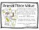 Zoo Math Place Value Freebie