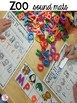 Zoo Math and Literacy Centers for Preschool, Pre-K, and Kindergarten