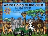 Zoo Math and Literacy MEGA Unit!