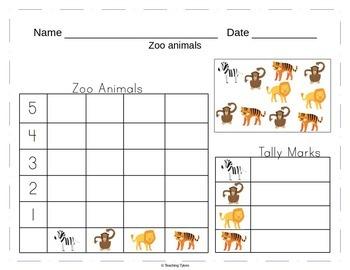 Zoo Worksheets Emergent Reader Task Cards