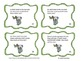 Zoo Multiplication Task Cards