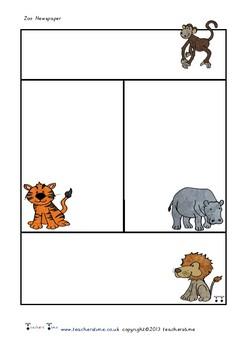 Zoo Newspaper Template