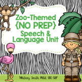 Zoo {No Prep} Speech & Language Unit