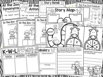 Zoo {No Prep} Speech & Language Unit