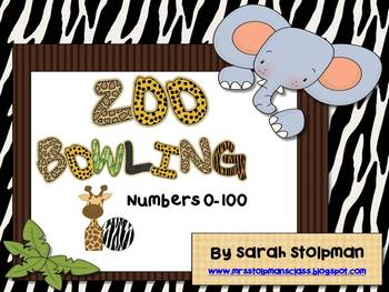 Zoo Number Bowling