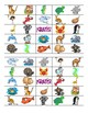 Zoo & Ocean Animal Bingo