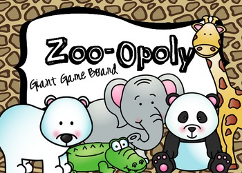 Zoo-Opoly: A Giant Board Game and PowerPoint Game