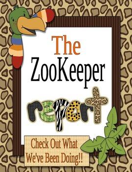 Zoo Organizational Binder Set