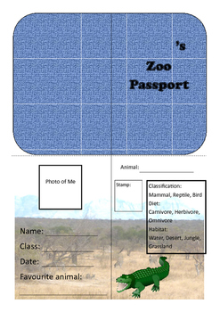 Zoo Passport #2