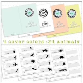 Zoo Passport Animal Scavenger Hunt