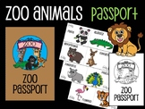 Zoo Passport : Scavenger Hunt, Zoo animals, Mini Book