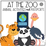 Zoo Passports and Zoo Activities for Pre-K and Kinders
