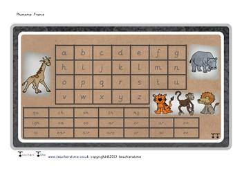 Zoo Phoneme Frame