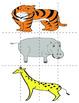 Zoo Phoneme Segmenting Cards