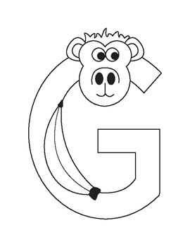 Inspired by Zoo Phonics, Uppercase Alphabet Bundle