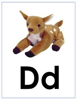 Zoo Phonics Alphabet Cards