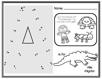 Zoo Phonics Alphabet Independent Practice