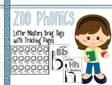 Zoo Phonics Alphabet Letter Mastery Brag Tags