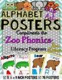 Zoo Phonics Alphabet Posters {CLIP ART IMAGES}