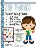 Zoo Phonics Alphabet Sounds Teaching Posters - Coming Soon!