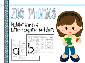 Zoo Phonics Alphabet Teaching Resources BUNDLE