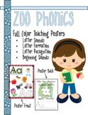 Zoo Phonics Alphabet Teaching Resources BUNDLE