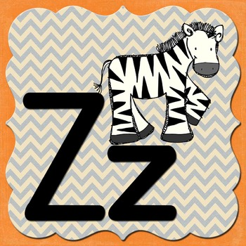 Zoo Animal Phonics COLOR Flashcards and Word Wall Labels