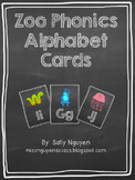 Zoo Phonics Chalkboard Alphabet Cards