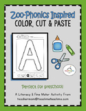 Zoo Phonics - Color, Cut & Paste