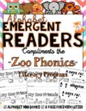 "Zoo Phonics Emergent Reader ""My Zoo Friends"""