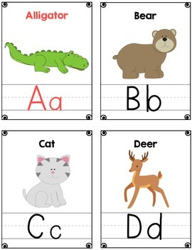 Zoo Friends Color Flashcards