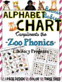 Zoo Phonics Friends Small Chart ~ Beanie Babies