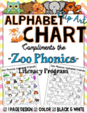 Zoo Phonics Friends Small Chart ~ CLIP ART IMAGES