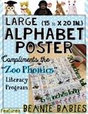 Zoo Phonics Large Poster - BEANIE BABIES