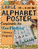 Zoo Phonics Large Poster - CLIP ART IMAGES