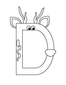 Zoo Phonics Letter of the Day: Dee-Dee Deer