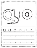 Inspired by Zoo Phonics, Lowercase Handwriting A-Z Bundle