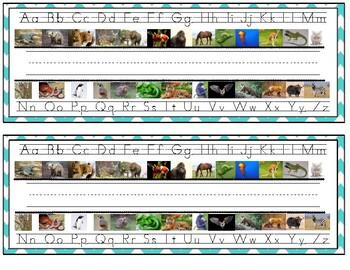 Zoo Phonics Name Plates