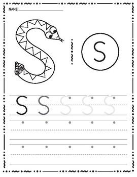 Zoo Phonics Uppercase Handwriting A-Z Bundle