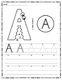 Inspired by Zoo Phonics, Uppercase Handwriting A-Z Bundle