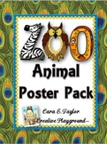 Zoo Poster Pack