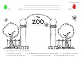 Zoo Postional Words