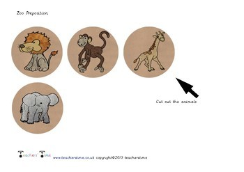 Zoo Preposition
