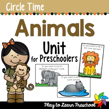 Animal Circle Time Unit
