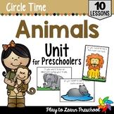 Animal Circle Time Unit
