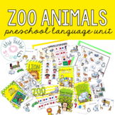 Zoo Preschool Language Unit