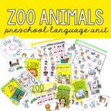 Zoo Preschool Language Unit