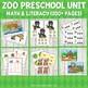 Zoo Preschool Unit (Mega Collection)