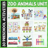 Zoo Preschool Unit (Mega Collection)